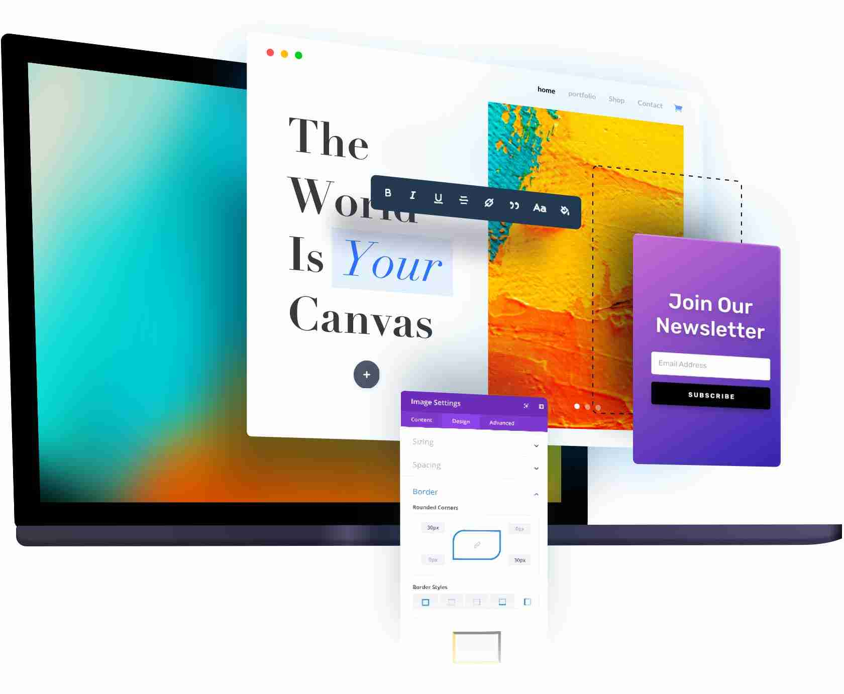 Graphic Design Mockup
