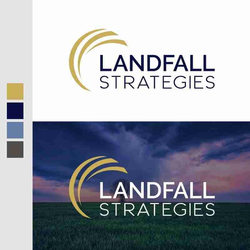 Landfall-Strategies-Logo-Design